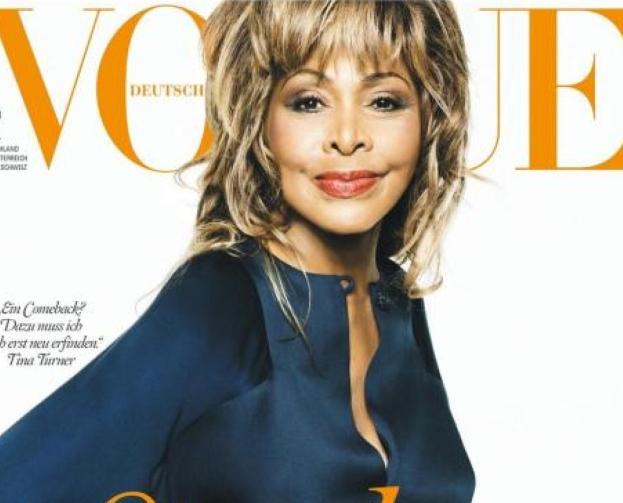 73-letnia Tina Turner w Vogue'u!