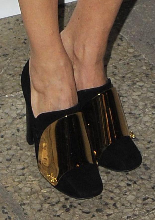 Złote buty Horodyńskiej... Ładne?