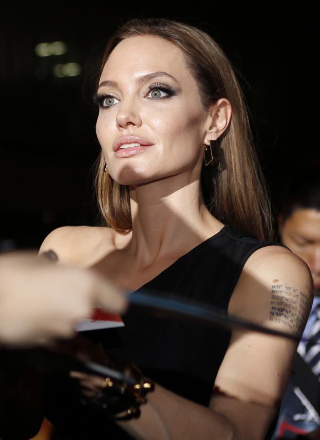 Angelina jest wielką fanką laserów!