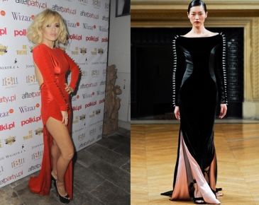 Tak Doda ZAPROJEKTOWAŁA swoją sukienkę... (Porównajcie!)