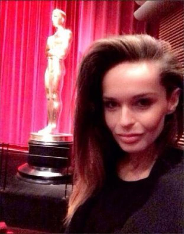 Sowińska na imprezie po rozdaniu Oscarów! (ZDJĘCIA)